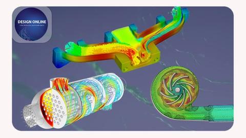 Flow Simulation using SolidWorks – تحليل سريان الموائع