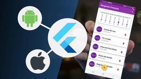 Aprenda Flutter e Desenvolva Apps Para Android e IOS 2021