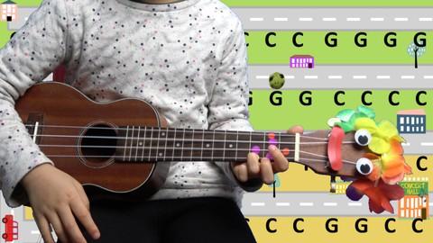 Easy Ukulele Play-Along Children's Songs