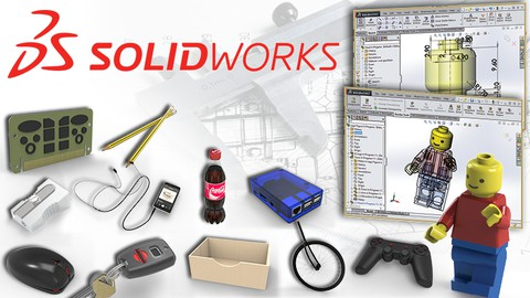 Master Solidworks 2021 – 3D CAD using real-world examples