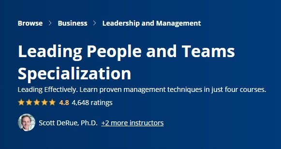 Leading People and Teams Specialization