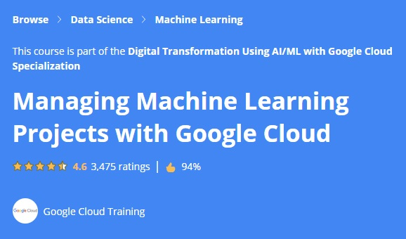 Managing Machine Learning Projects with Google Cloud