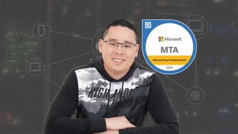 MTA 98-366 Network Fundamentals Class & Practice Exam Bundle