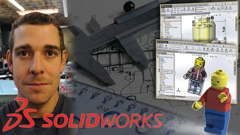 Master Solidworks 2019 – 3D CAD using real-world examples