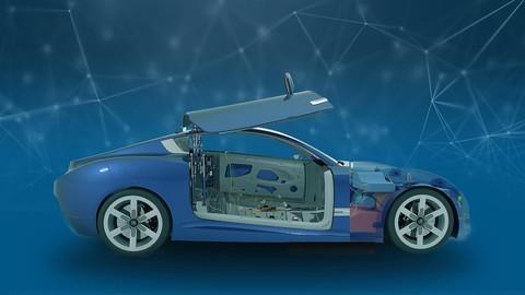 Automotive product design using CATIA V5