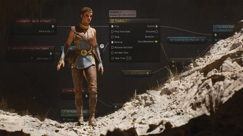Programar Blueprints en Unreal Engine de 0 a profesional