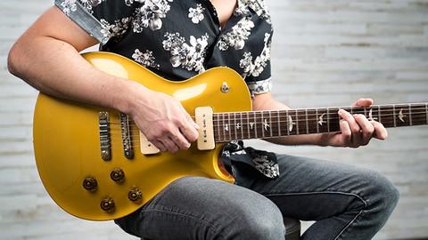 Intermediate Blues Guitar Lessons Rhythm w/ Corey Congilio