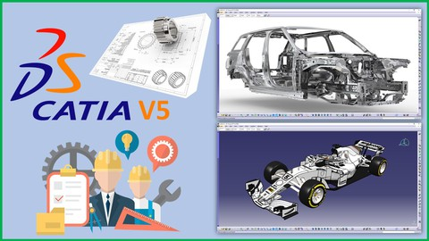 Catia V5 Beginner and Advanced – Automotive and Industrial