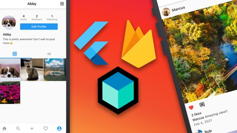 Flutter Firebase Bloc Instagram Clone | iOS and Android