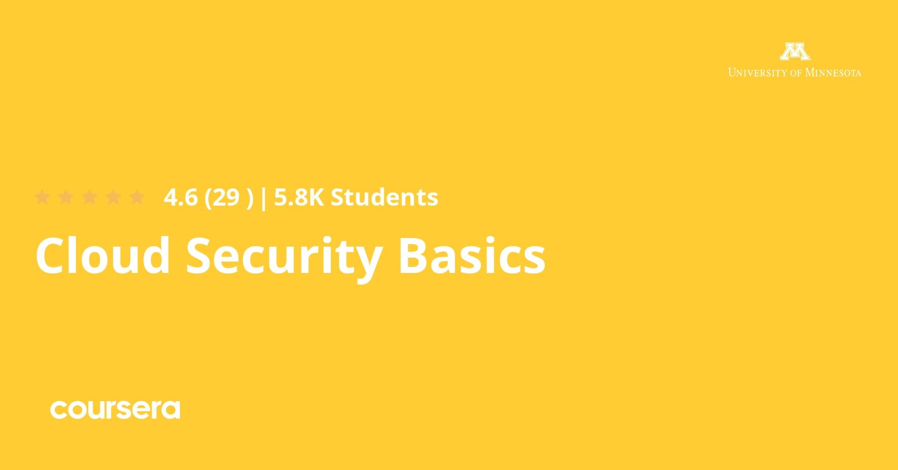 Cloud Security Basics