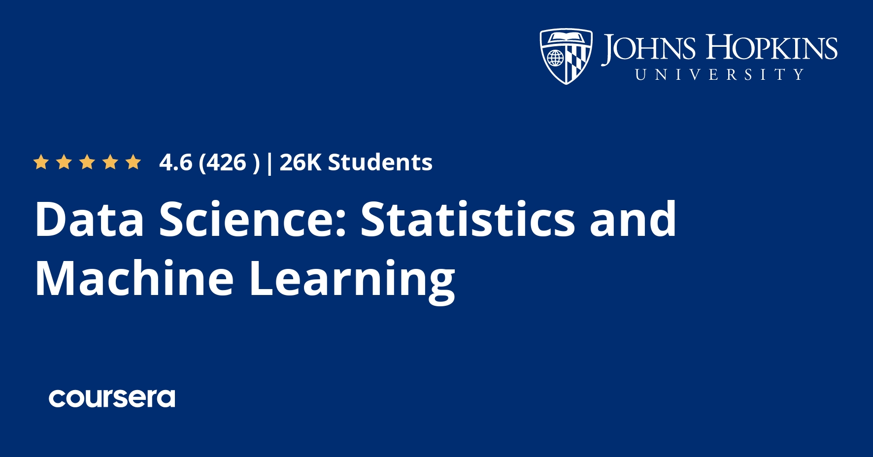 Data Science: Statistics and Machine Learning Specialization