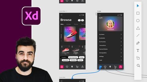 Adobe XD Mega Course – User Experience Design