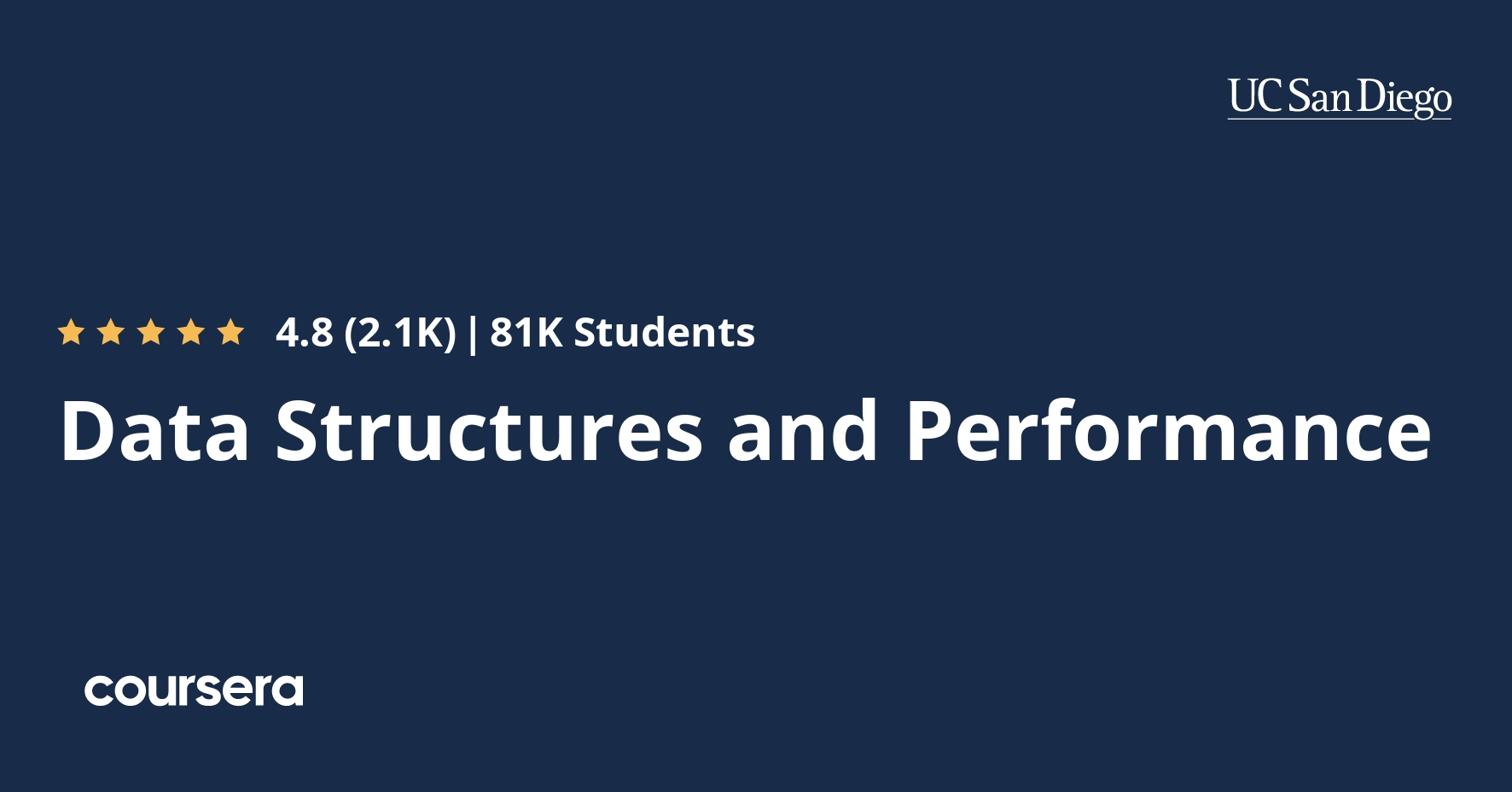 Data Structures and Performance