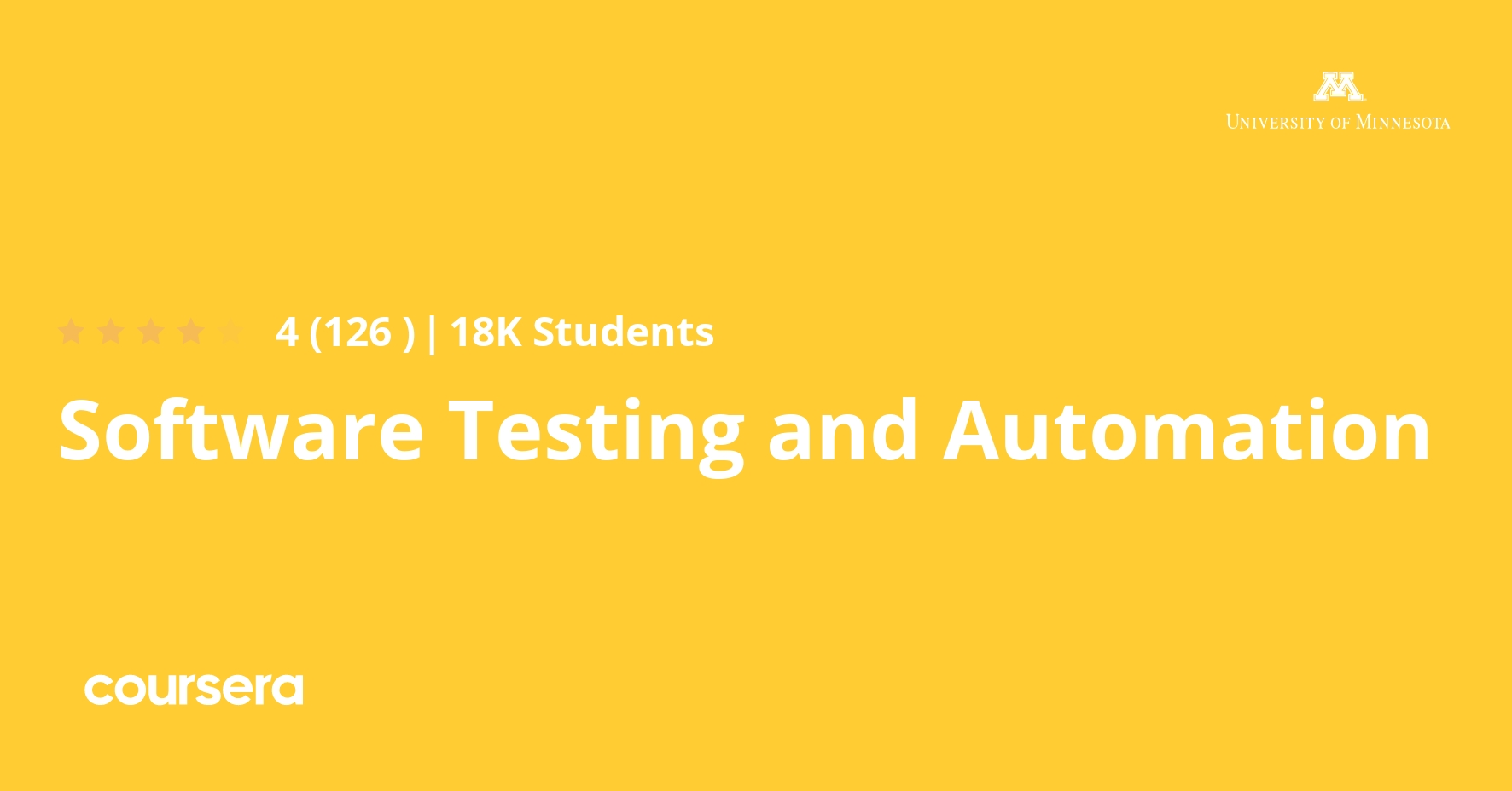 Software Testing and Automation Specialization