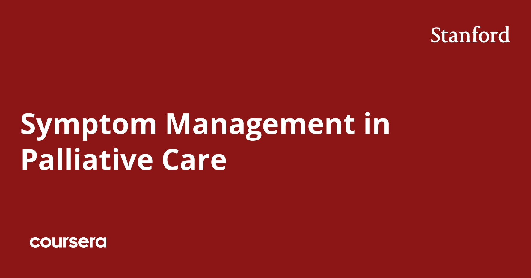 Symptom Management in Palliative Care