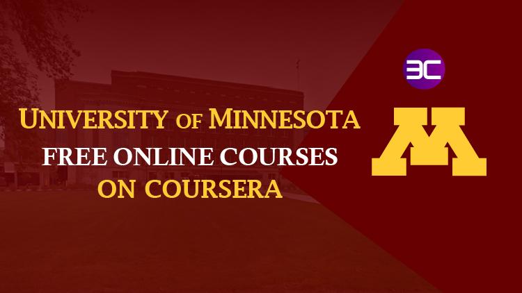 University of Minnesota-70+ Best Online Courses & Specializations