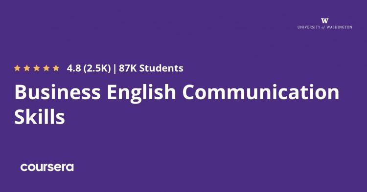 Business English Communication Skills Specialization