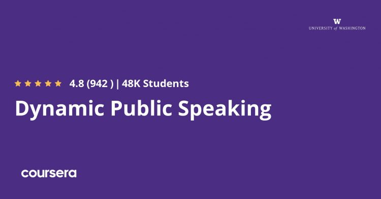Dynamic Public Speaking Specialization