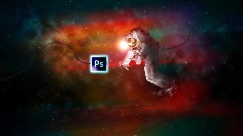 Space Explorer-Photo Composite Photo Manipulation Photoshop
