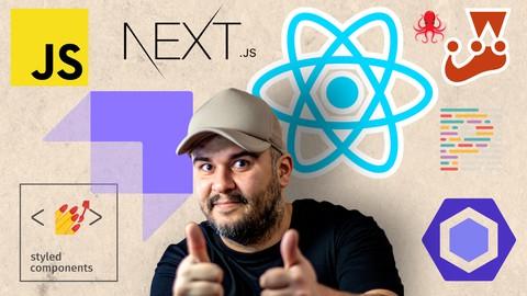 Curso de React.Js + Next.Js completo do básico ao avançado