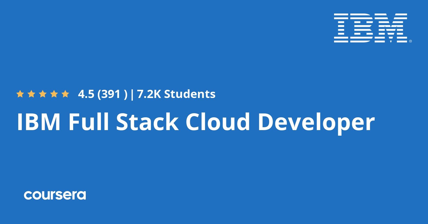Cloud Developer-IBM