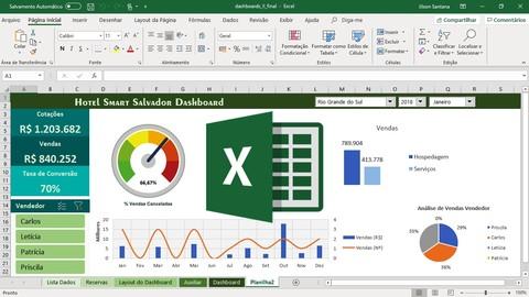Excel Básico Avançado 5 Cursos – Formação Especialista