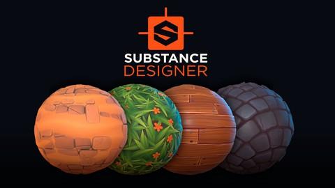 Substance Designer 2020 – Creación de Materiales Estilizados