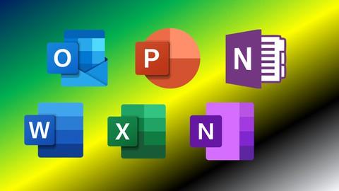 Microsoft Office (5 in 1):Word-Excel-PowerPt-Outlook-OneNote
