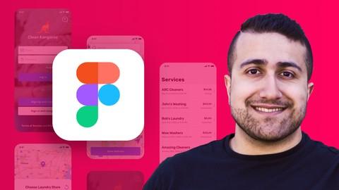 The Complete Figma Course – Designing Mobile & Web App UI/UX