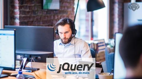 jQuery – Curso COMPLETO Com Projetos Reais