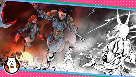 Comic Book Creation Masterclass: Draw Amazing Superheroes!