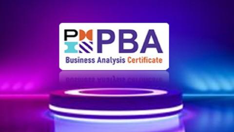 Business Analyst Certification (PMI-PBA) Prep exam